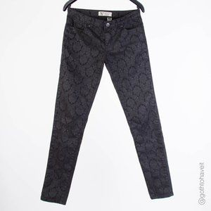 Nevada Black Damask Jeans